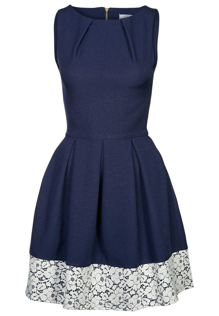 Closet - Cocktailkleid / festliches Kleid - navy/cream | Prooooom ...