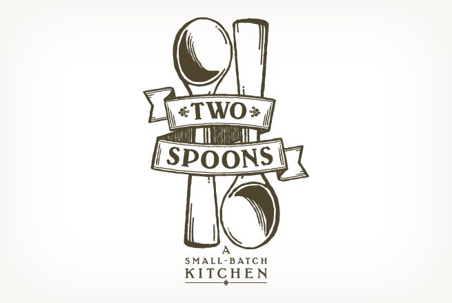two spoons logo