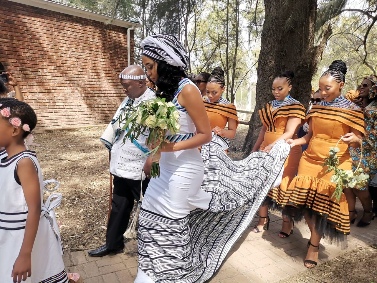 7 Of The Most Beautiful African Traditional Wedding