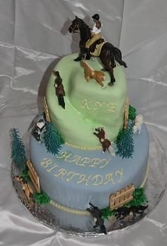 Childs Cake For A Little Girlboy Love The Spiral Effect On The - Horse themed birthday cakes