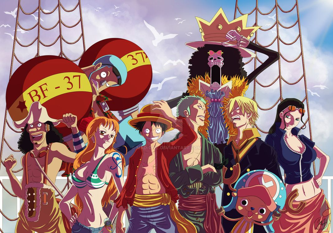 One piece christmas pressent by madowl on deviantart