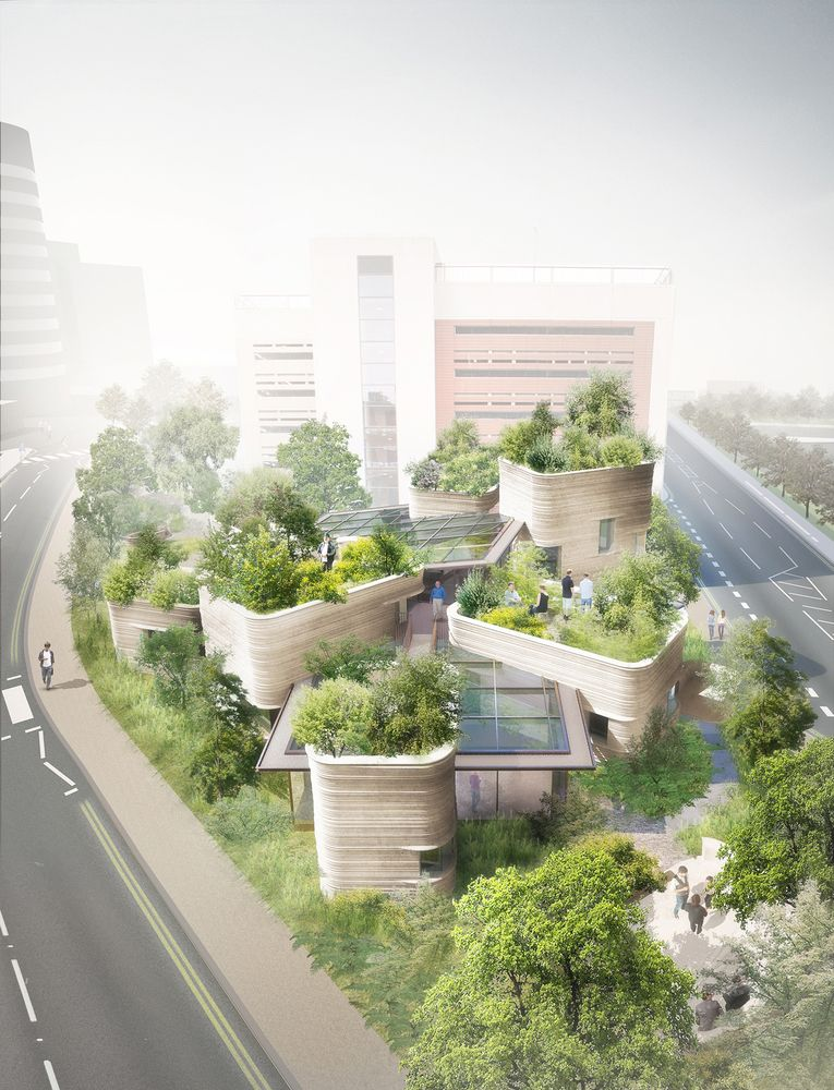 Heatherwick Wins Planning for New Maggie's Centre in Leeds