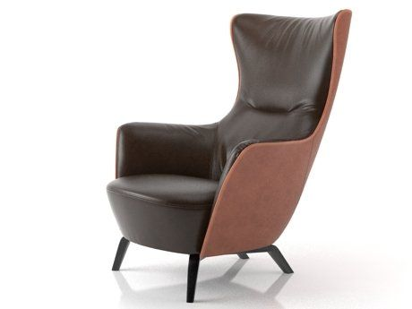 Mamy Blue 3d model by Design Connected Single sofa chair