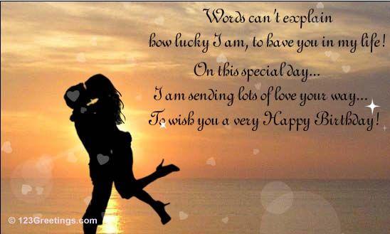 Birthday Wishes For Boyfriend Dan Artinya ~ My wonderful birthday card from my husband! favorite places