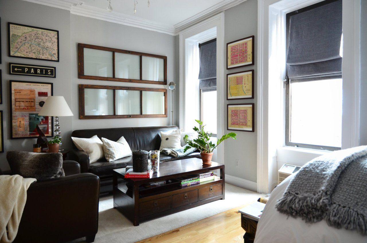 Matt S Just Right New York Studio Studio Apartment Layout First