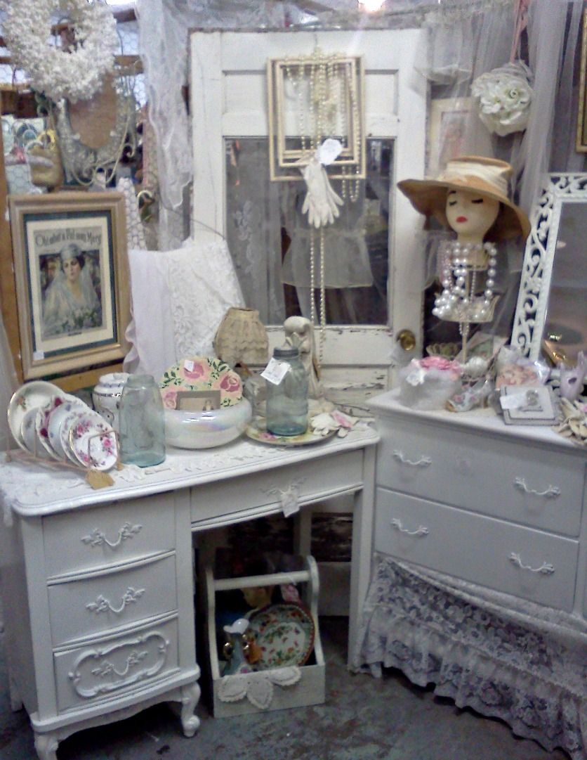 Antique Mall Booth Displays Olivias Romantic Home My Shabby Chic