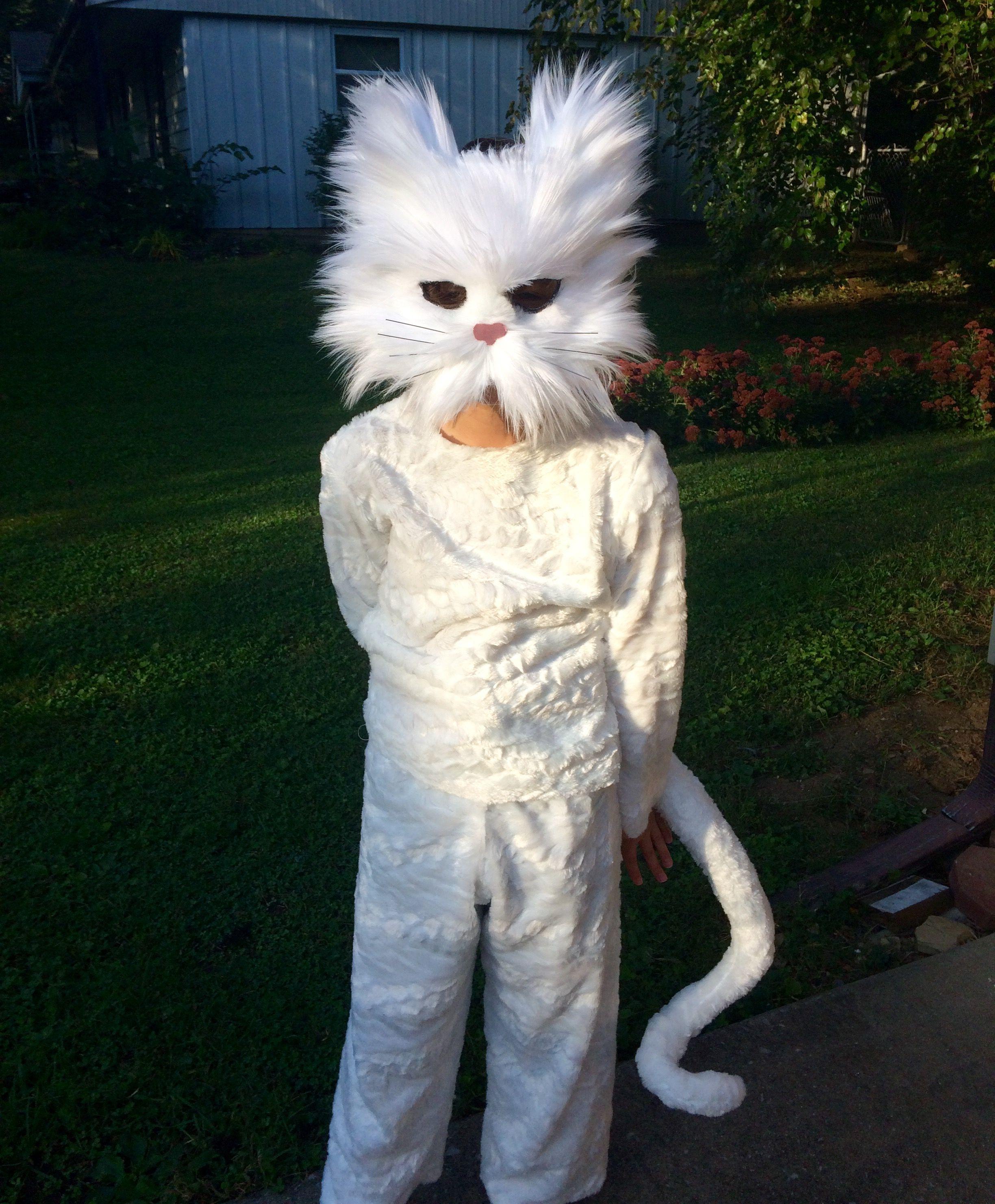 Diy Warriors Cat Costume Cat Costume Kids Cat Costumes