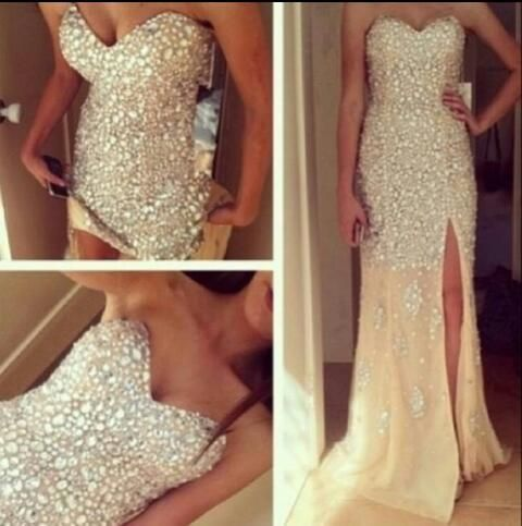 I want that as the top part of my dress and then the bottom to be big like a princess dress