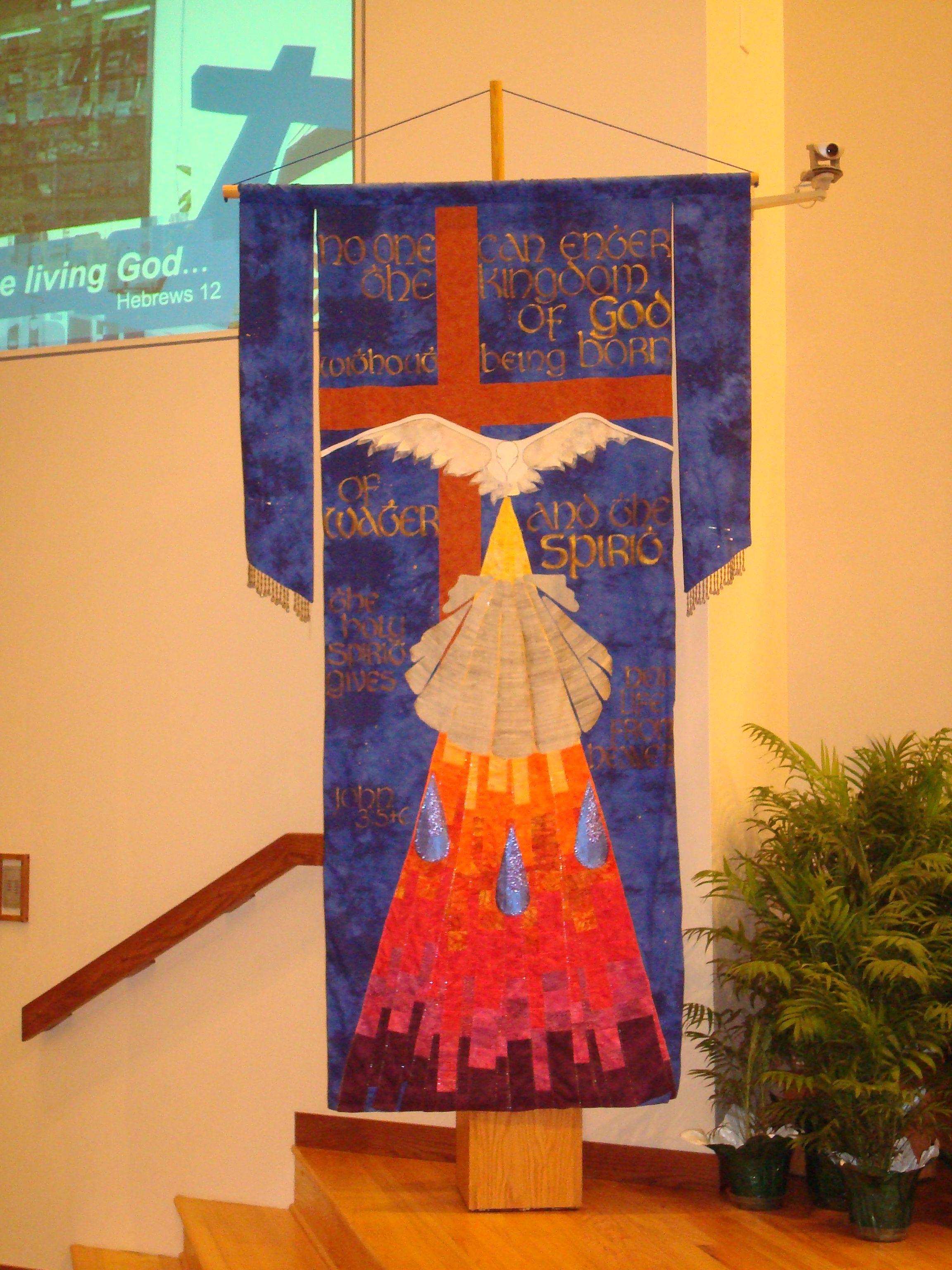 Lincoln NE; fall 2010beautiful banner Church banners