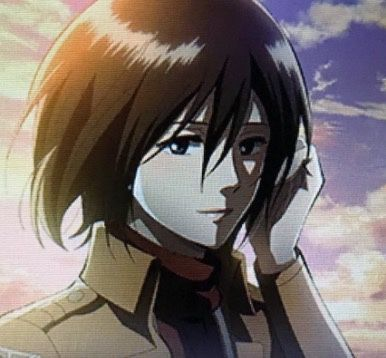 Most Beautiful Girl Ever Mikasa Ackerman Attack On Titan Anime Attack On Titan Art Profile Picture