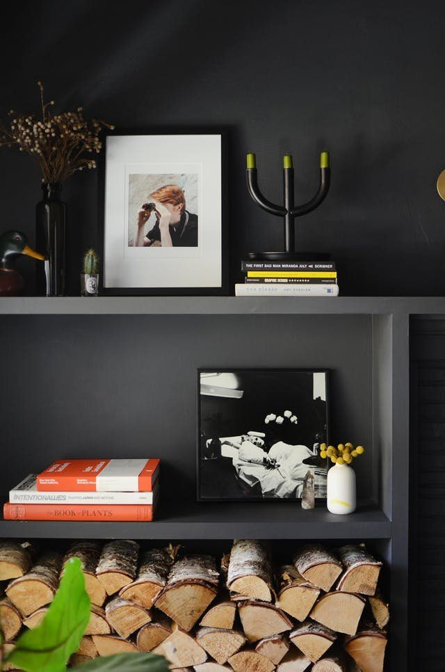 How To Pull Off Painting Your Living Room Black Living Room