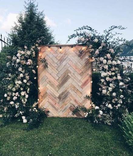 Best Backyard Wedding Backdrop Simple 34+ Ideas -   19 wedding Simple backyard ideas