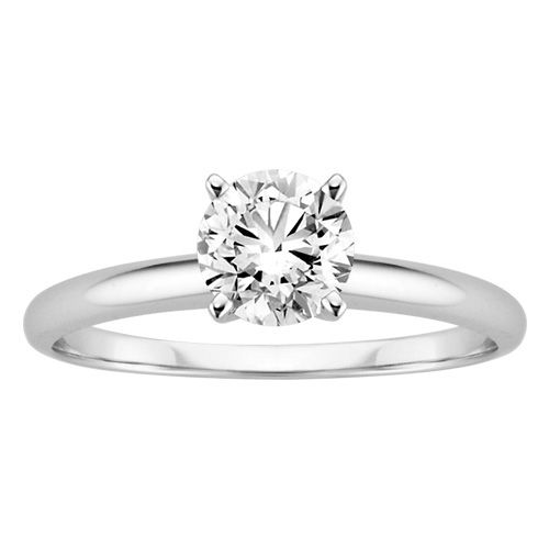 New Fred Meyer Jewelers ct Forever Ideal Diamond Solitaire Ring
