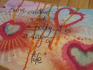 2CREATEme: Art Journal Love: being creative...