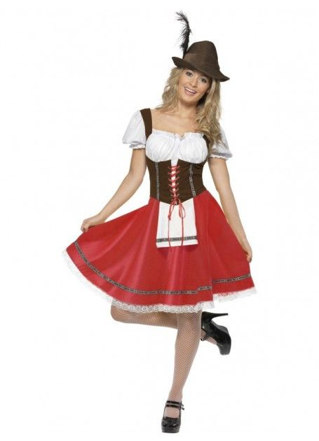 a06339e6f4707 Oktoberfest Costume German Beer Wench – Disguises