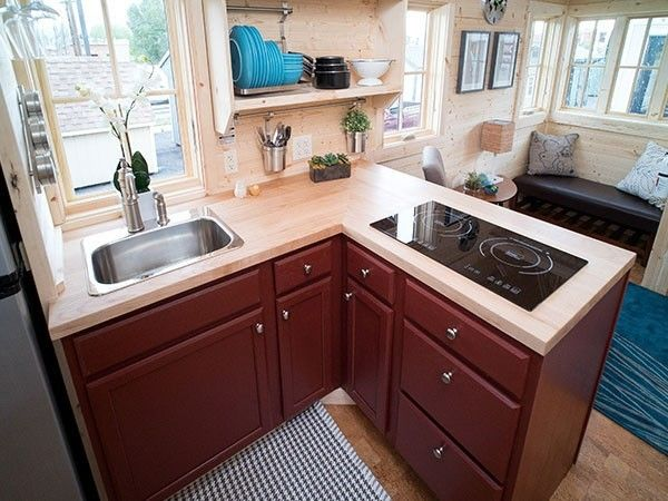 Cypress Kitchen, Tumbleweed Tiny Homes