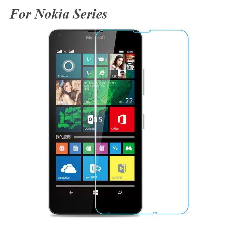 Premium 2 5d 9h 0 3mm Tempered Glass Screen Protector For Microsoft Nokia Lumia 520 530 550 630 635 Microsoft Lumia Phone Screen Protector Microsoft Lumia 640