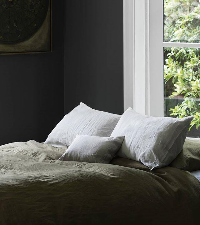 Buy online luxury 100 linen bedding, silk velvet cushions, throws