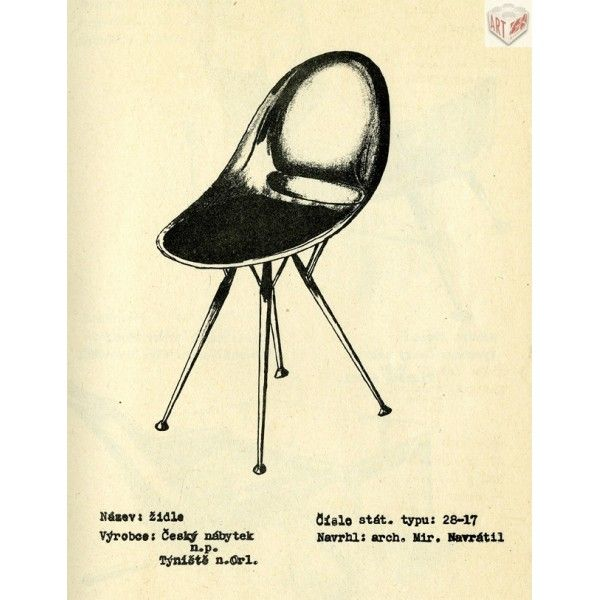 Židle 28-17, M. Navrátil - Půjčovna rekvizit