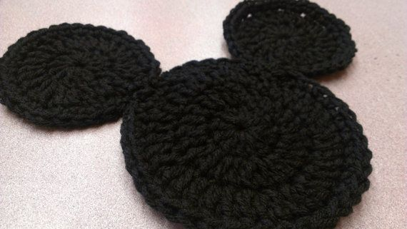 Mickey Mouse Crochet Coaster - Fun Disney Themed Coaster | Art ...