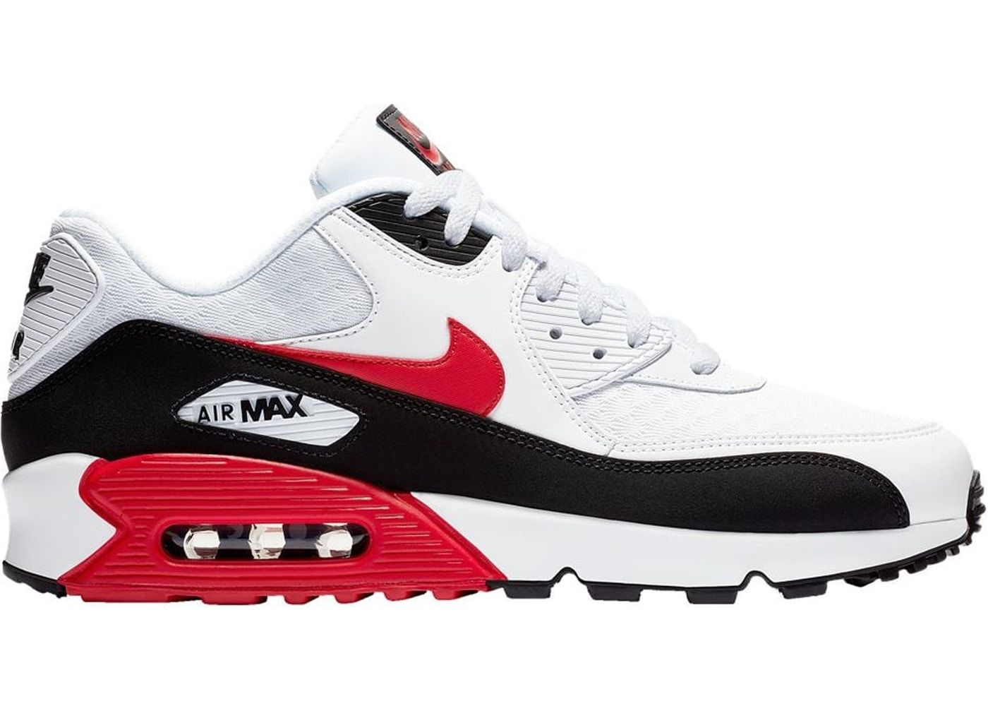 Check out the Air Max 90 White University Red Black ...