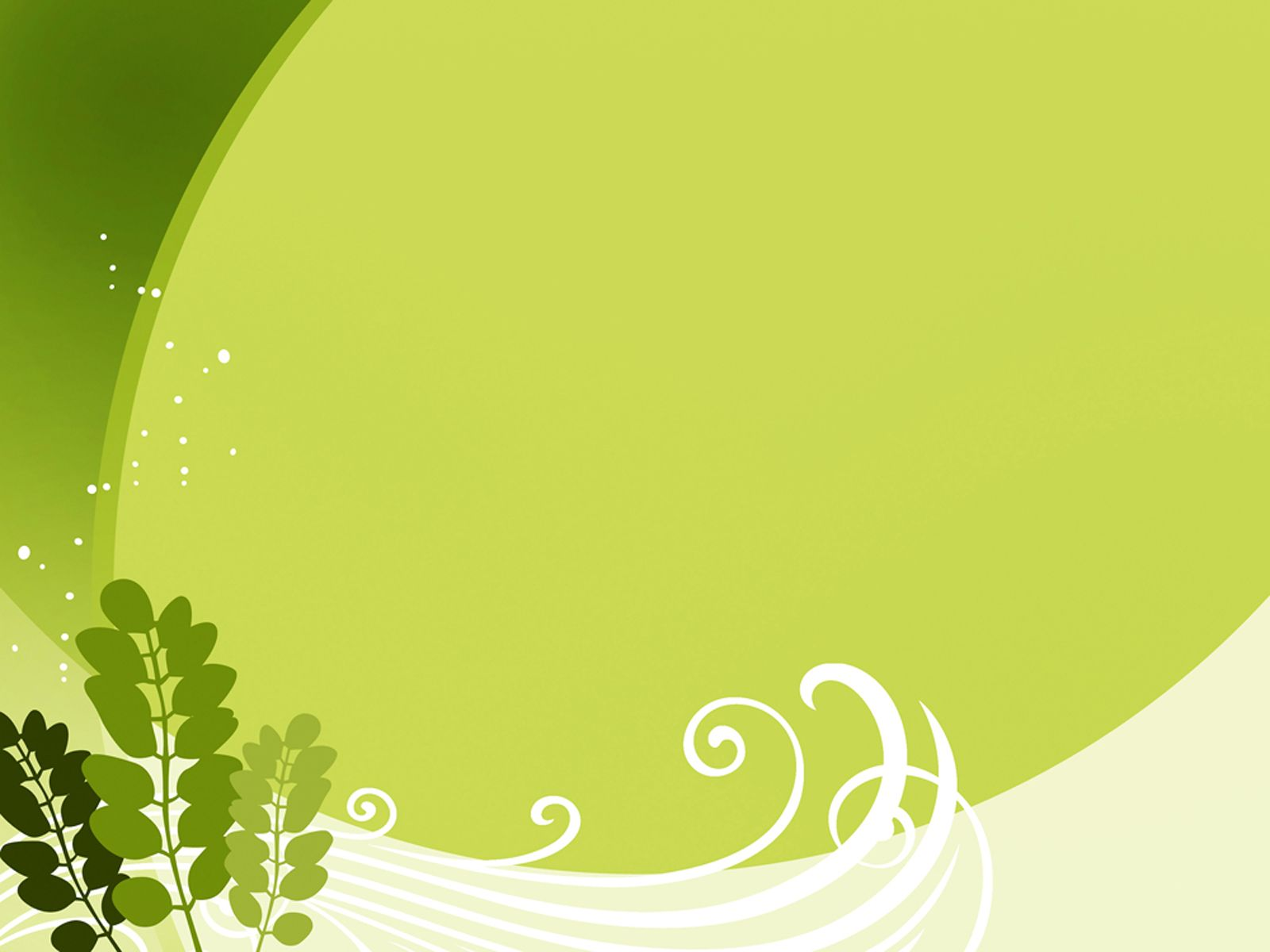 leaf green free ppt backgrounds for your powerpoint