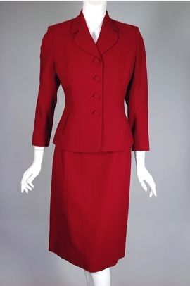 Vintage 1950 S Women S Business Suits Click On The Thumbnails To