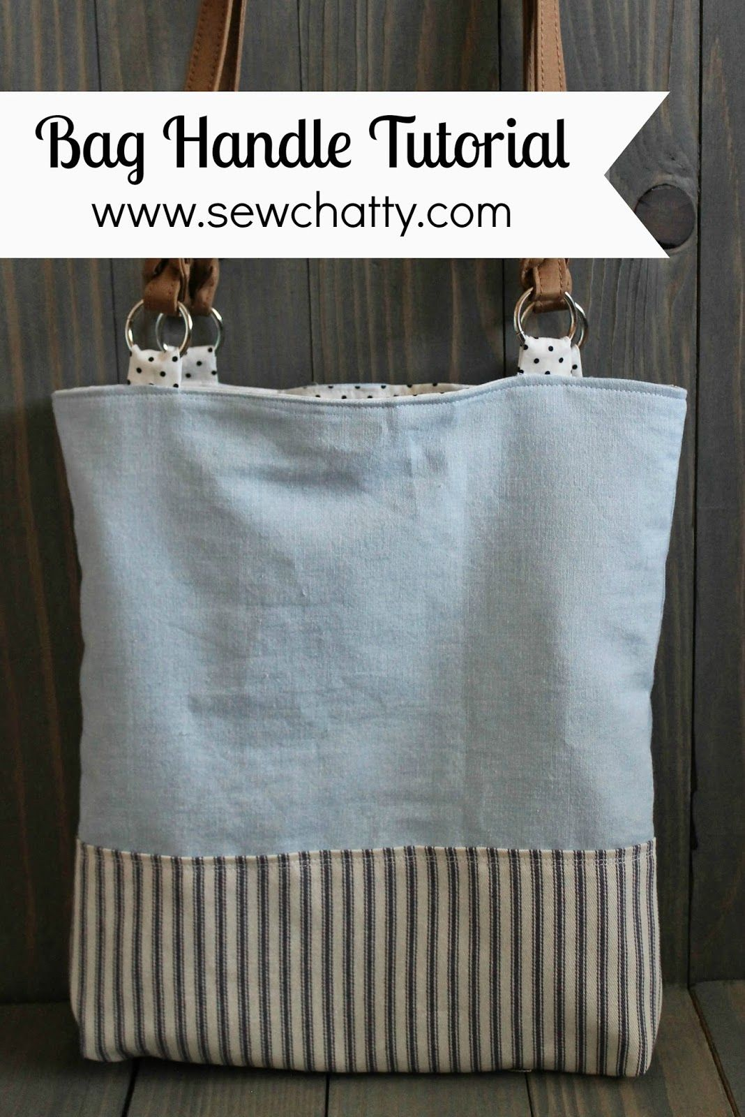 Sew Chatty Tutorial Adding Commercial Handles To