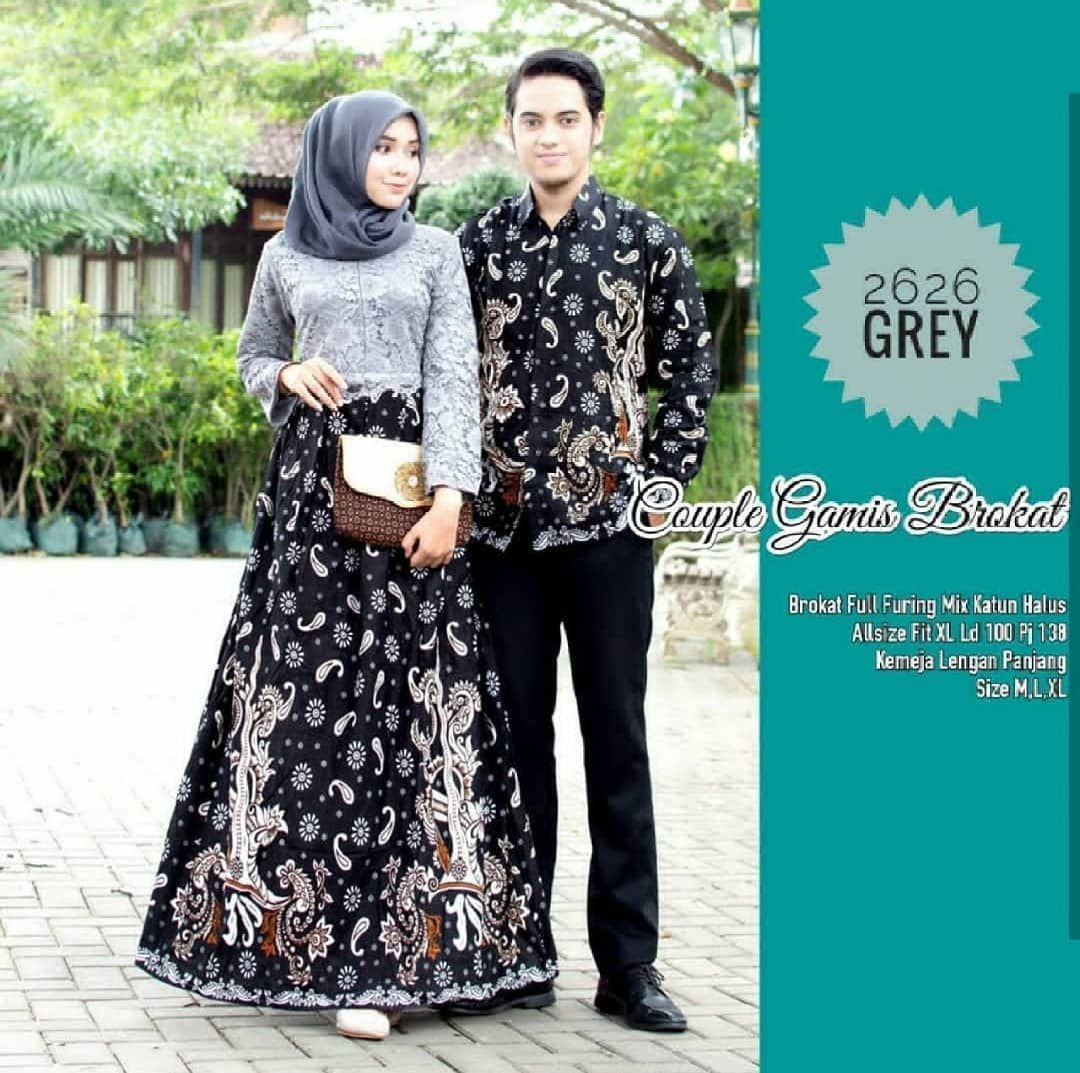 Pin by Zion Hughes on gamis in 9  Batik couple, Fashion, Insta