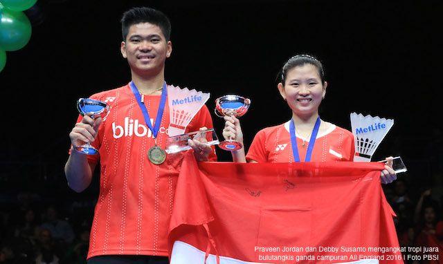 BIRMINGHAM, AKARPADINEWS.COM | PRAVEEN Jordan dan Debby Susanto mengukir prestasi yang membanggakan Indonesia. Atlet bulutangkis ganda campuran itu menyumbang satu-satunya gelar juara bagi Indonesia di ajang bulutangkis bergengsi sejagad,