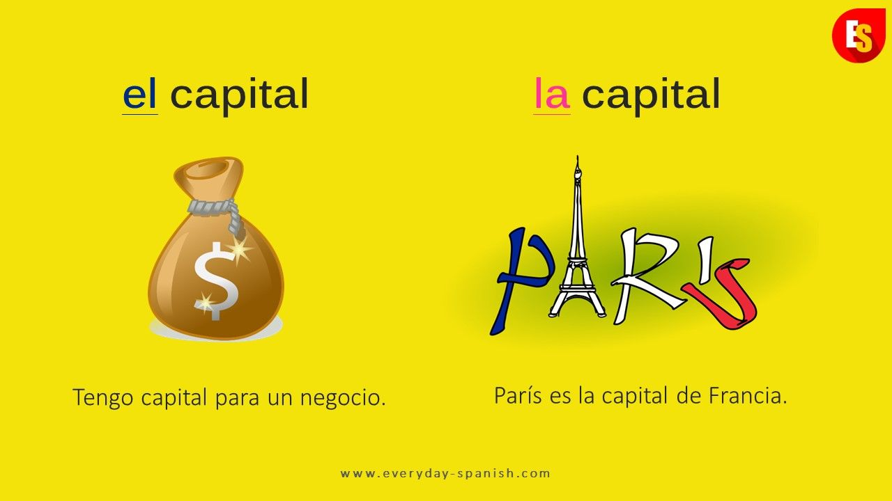Tengo Capital Para Un Negocio I Have Capital For A Business París Es La Capital De Francia How To Speak Spanish Learning Spanish Learn To Speak Spanish
