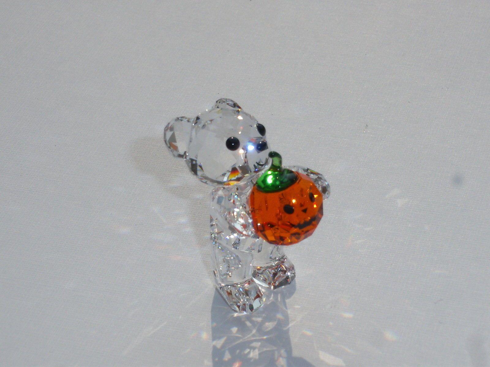 Swarovski Kris Bär Ein Kürbis für Dich Halloween Bear A Pumpkin for you 5223252   eBay