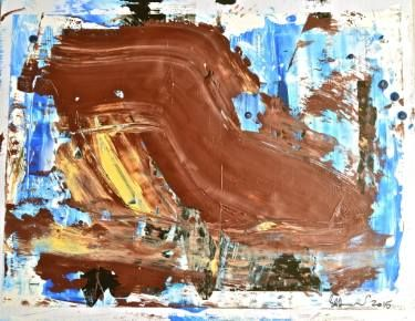 "Saatchi Art Artist Geoff Howard; Painting, ""Abstract Map 6"" #art"