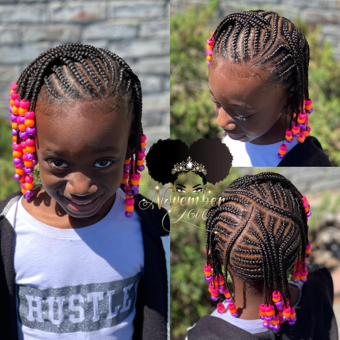 November Love On Instagram Children S Braids And Beads Dm Me For Booking Information Childrenhairstyles Braid Hair Styles Kids Hairstyles Braids For Kids