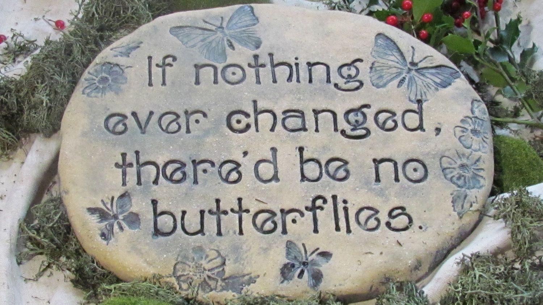Inspiring Garden Stones With Quotes Garten Garden