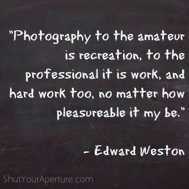 Photo Quote - Edward Weston