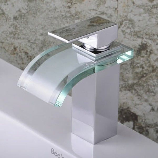 Bathroom Faucets The True Meaning Of Having An Elegant Bathroom - Waterfall faucet for bathroom sink for bathroom decor ideas