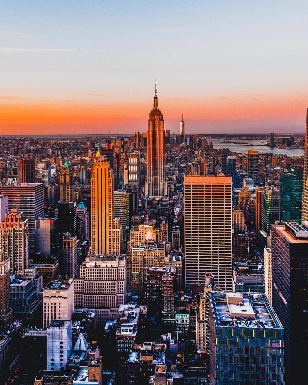 Nothing Like A New York City Sunrise New York Sunset Sunset City City Aesthetic