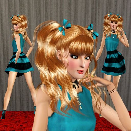 Gianda Anuja female model by Trudie55 - Sims 3 Downloads CC Caboodle