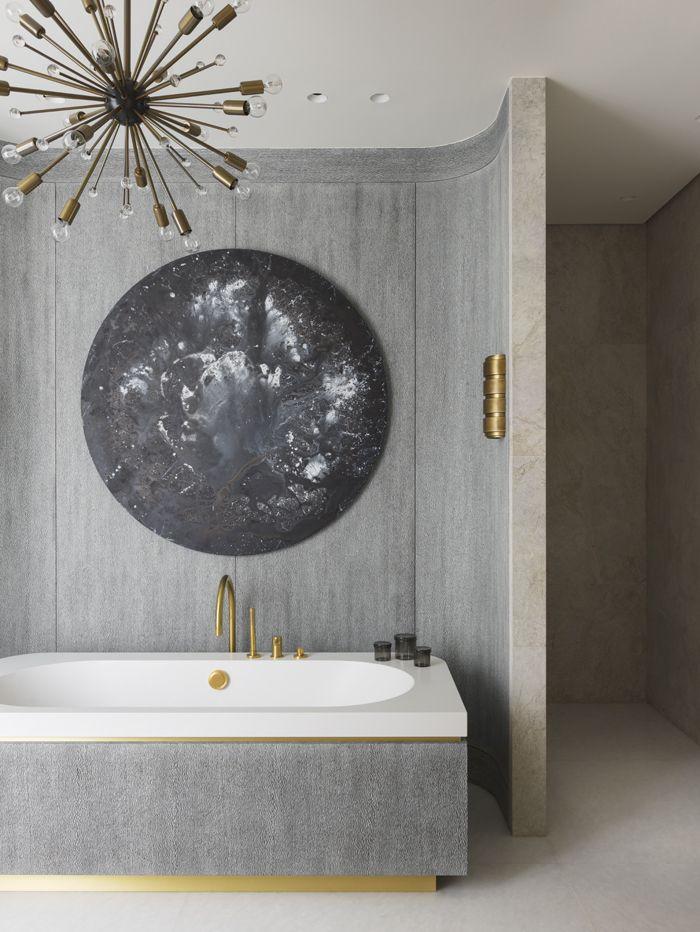 Une salle de bains contemporaine Bathrooms Pinterest Bath