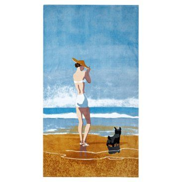 Check Out This Item At One Kings Lane Conde Nast Beach Towel Girl