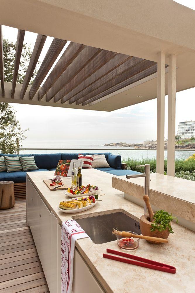 Beautiful braai area | Home, Outdoor living, House design