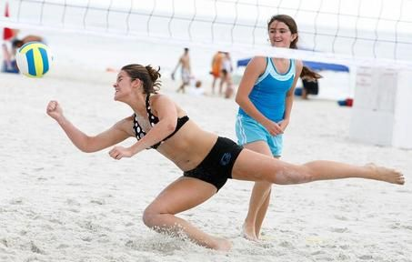 Beach Volleyball Champions Crowned In Gulf Shores Gulf Coast Beaches Beach Volleyball Volleyball