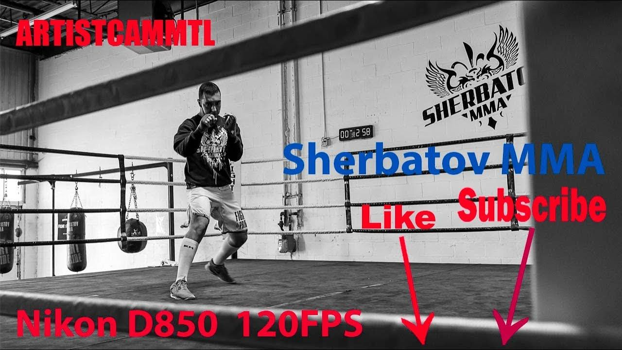 Nikon D850 120FPS at Sherbatov MMA! | My Vlog, every Tuesday