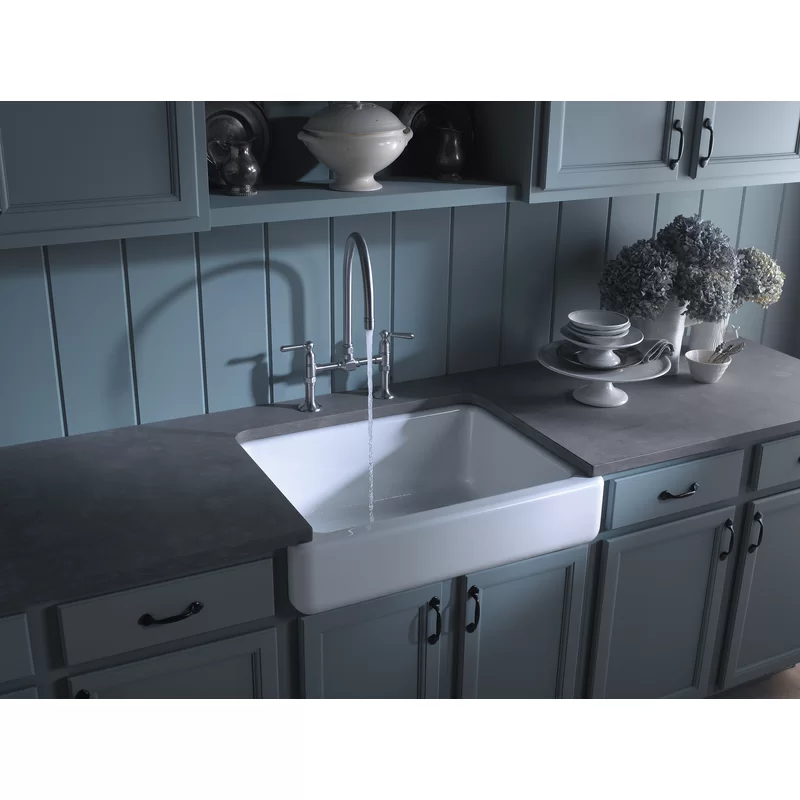Kohler Whitehaven Self Trimming 36 L X 22 W Undermount Kitchen