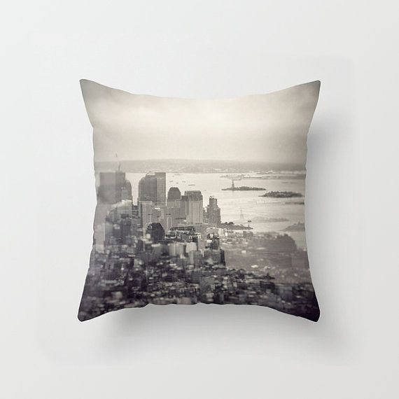Skyline in new york pillow cover cushion cover 16 x 16 •