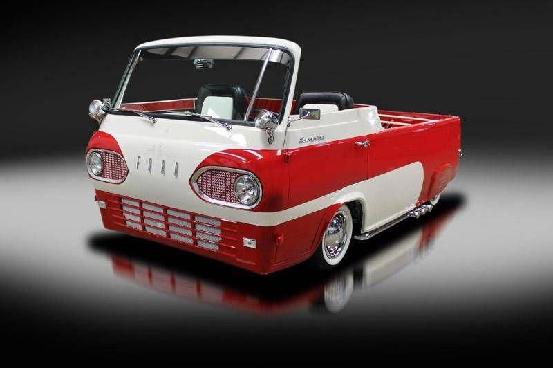 Customized 1961 Ford Econoline Pickup For Sale On Hemmings Com