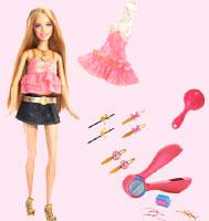 Barbie MY SCENE BAMBOLA accessori-colore Blu Navy DOLL STAND