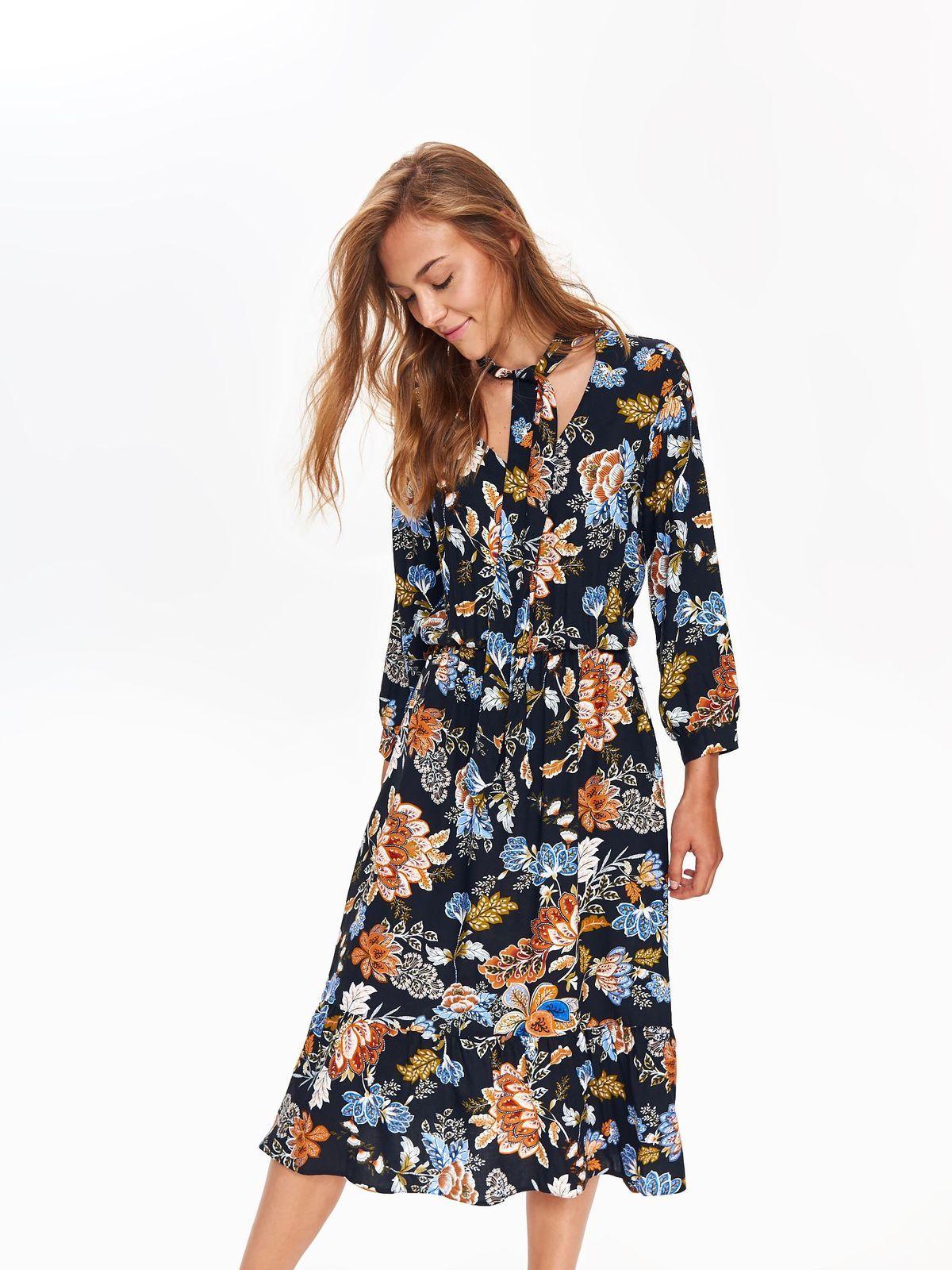 f7359be3f Sukienka damska kolorowa - SSU2463 sukienka - TOP SECRET - Odzieżowy sklep  internetowy TOP SECRET