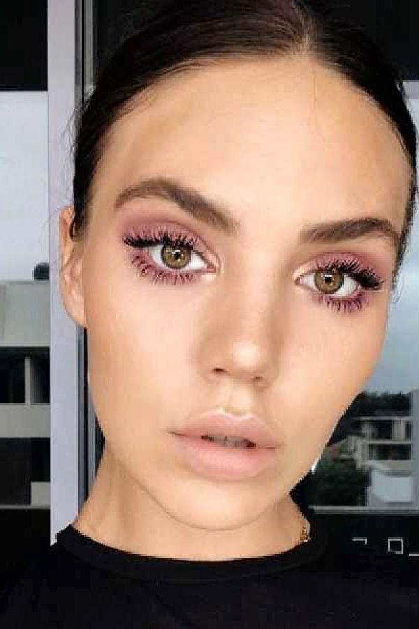 34+ Ideias de Maquiagem para o Dia e Vídeos com Passo a Passo #Make #Makeup #Leve #DiaaDia #Maquiagem